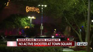 False report of active shooter at Town Square - Video