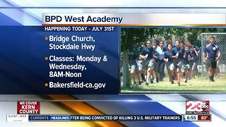 Bakersfield Police Department cadet academy kicks off - Video