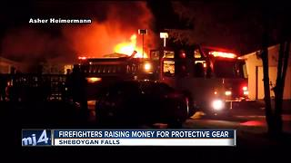 Sheboygan Falls Fire crowdfunds for protective gear - Video