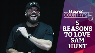 Five Reasons to Love Sam Hunt | Rare Country - Video