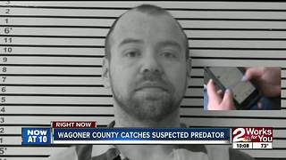 Wagoner County Sheriff's Office catches 38-year-old predator who targeted 100 girls - Video