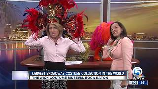 Wick Costume Museum showcases largest collection of Broadway costumes - Video