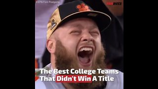 Best College Football Teams To Not Win A Title