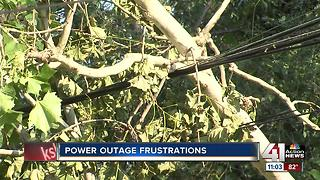 Power outages continue after weekend storms