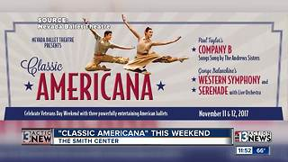 Nevada Ballet Theatre presents 'Classic Americana' - Video