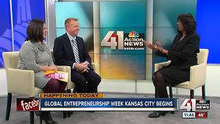 Global Entrepreneur Week in KC begins - Video