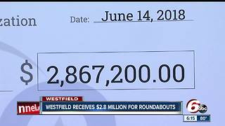 Nearly $3 million for new roundabouts in Westfield - Video