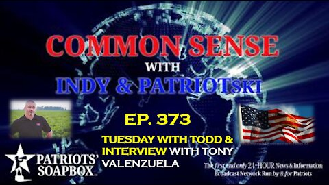 Ep. 373 Tuesday With Todd & Interview With Tony Valenzuela