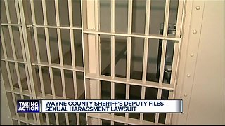 Wayne County Sheriff's Deputy filed sexual harassment lawsuit