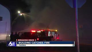 JC Watson Company building catches fire in Parma