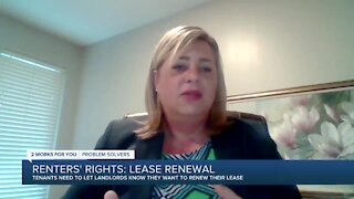 Renters' Rights: Renewing a lease agreement