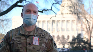 Ohio Army National Guard soldiers support inauguration