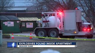 FBI and Department of Homeland Security investigating Beaver Dam bomb - Video
