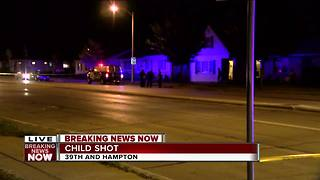Police: Child shot on Milwaukee's north side - Video