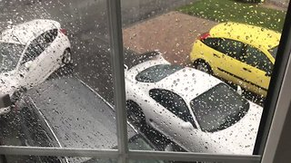 Flash Flooding Hits South Staffordshire During Weekend Storms - Video
