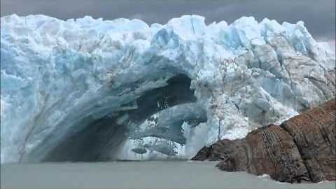Ice Bridge Collapses at Perito Moreno In Argentina