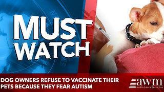 Brooklyn dog owners refuse to vaccinate their pets because they fear shots will give them AUTISM - Video