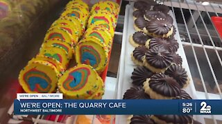 We're Open: Quarry Cafe