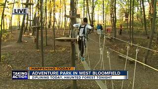 Adventure Park in West Bloomfield - Video