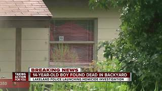 Homicide detectives investigating after 14-year-old found dead in Lakeland - Video
