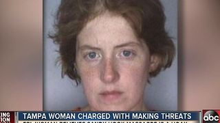 Tampa woman charged with making threats to a parent who lost his son in the Sandy Hook massacre - Video