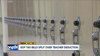 Ohio teachers concerned teacher tax credit will be repealed in new tax plan - Video