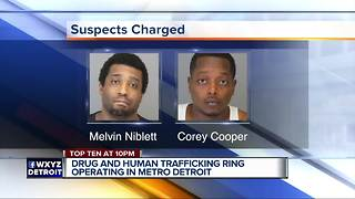 Four charged in metro Detroit opioid drug and human trafficking ring - Video