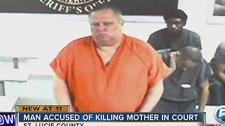Son held without bond after St. Lucie County mom killed in machete attack - Video
