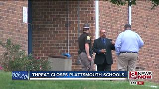 Plattsmouth schools re-open after threat Tuesday night - Video