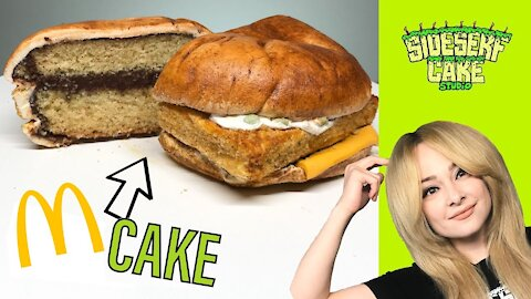 How to make a hyperrealistic 'Filet-O-Fish' cake