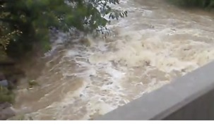 Eastern Oklahoma Rains Raise Creek Levels
