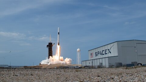 SpaceX Crew Dragon, Now 'Capsule Endeavor,' Docks At Space Station