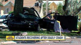 Teen killed in crash weeks before graduation - Video