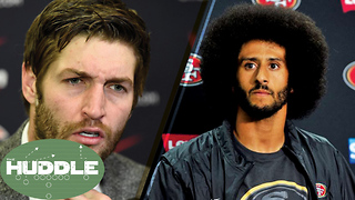 How Did Jay Cutler Get a QB Job Before Colin Kaepernick!? -The Huddle - Video