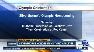 Silverthorne honors its Olympics athletes - Video