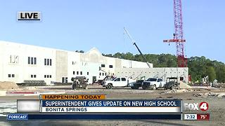 Superintendent to give update on new Bonita Springs high school - Video