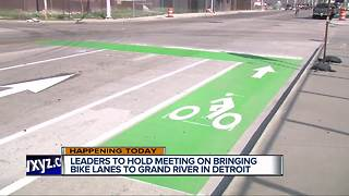 Fewer car lanes, more bike lanes expected in Detroit - Video