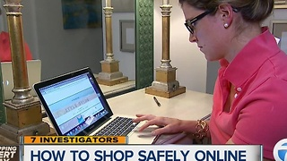 How to shop safely online - Video