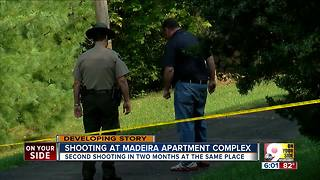 PD: 2 suspects flee shooting in Madeira - Video