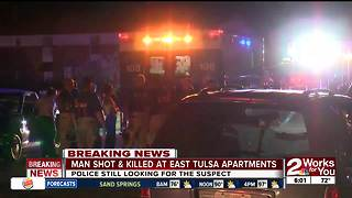 Tulsa Police investigate city's latest homicide - Video