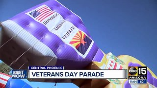 Veteran's Day parade in Phoenix