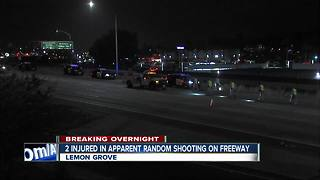 2 injured after shooting on SR-94 - Video