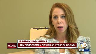San Diego attorney killed in Las Vegas shooting - Video