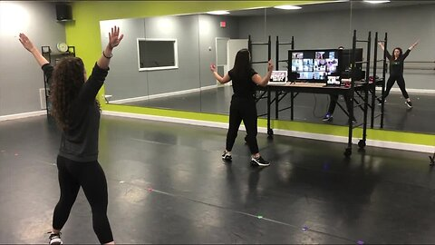 Oldsmar dance school busts new business move, starts hosting live online classes to keep kids moving