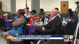 Baltimore Cyber Summit teaches kids Internet safety - Video