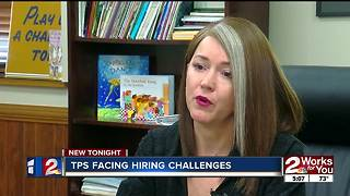 TPS facing hiring challenges - Video