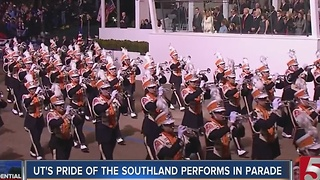 Pride Of The Southland Plays In Inaugural Parade - Video