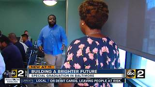 Special graduation for Baltimore residents desiring to build a brighter future - Video