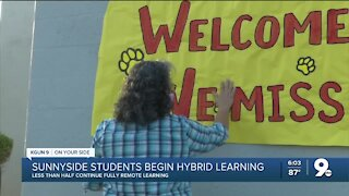 Sunnyside students head back to school for hybrid learning