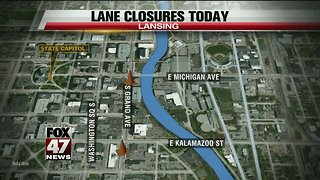 South Grand Avenue closed for project - Video